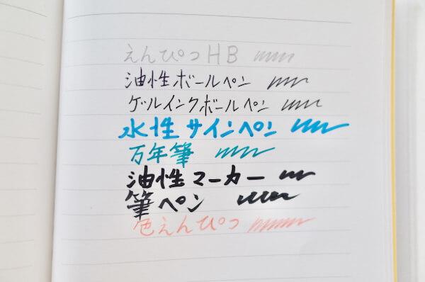 TOLOTの紙とペンの相性